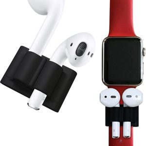 Airpods Houder Siliconen Anti Lost Clip Strap voor Apple Airpods - Apple Watch Band Houder van iCall