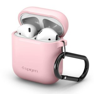 Roze Silicone Case hoesje voor AirPods