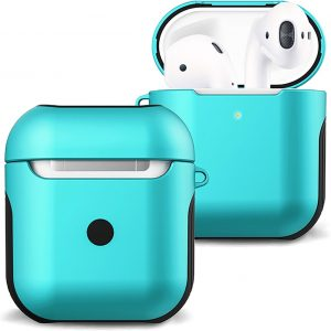 Hoesje Voor Apple AirPods 2 Case Hoes Hard Cover - Mint Groen