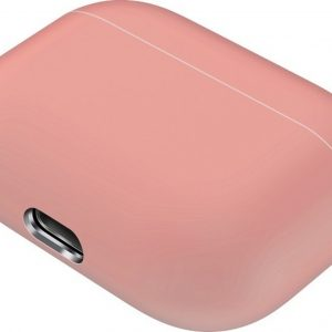 Mobigear Siliconen Cover Licht Roze voor Apple AirPods pro