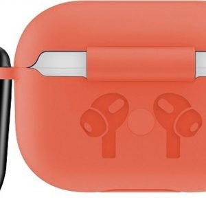 Mobigear Siliconen Cover Rood voor Apple AirPods