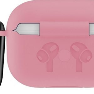 Mobigear Siliconen Cover Roze voor Apple AirPods