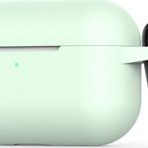 Mobigear Siliconen Cover Wit voor Apple AirPods Pro