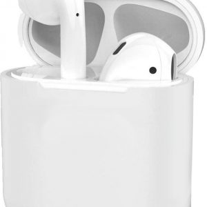 Siliconen Hoes voor Apple AirPods 2 Case Ultra Dun Hoes - Transparant