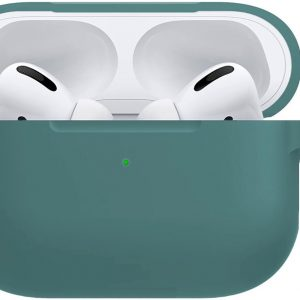 Siliconen Hoesje Cover Voor Apple AirPods Pro Case - Midnight Green
