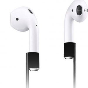 Xccess Anti Lost Strap Black voor Apple AirPods