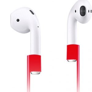 Xccess Anti Lost Strap Red voor Apple AirPods