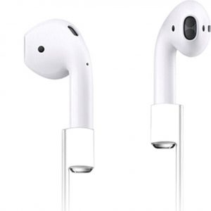 Xccess Anti Lost Strap White voor Apple AirPods