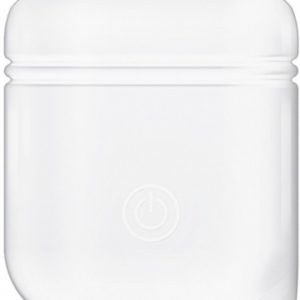 Xccess Shockproof Silicone Case with Hook Apple Airpod White