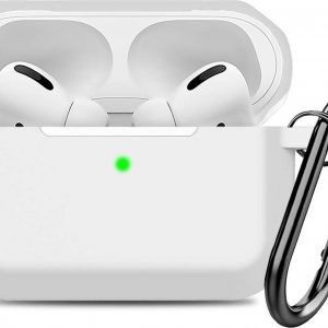 Airpods Pro Hoesje - Siliconen Soft Case - Wit