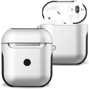 Hoes Voor Apple AirPods 2 Case Hoesje Hard Cover - Wit