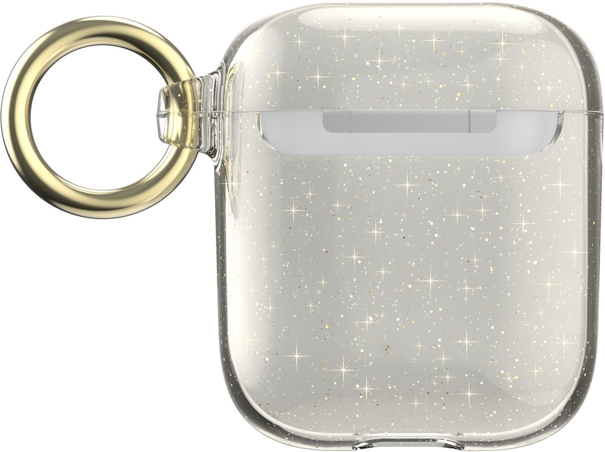 Speck Presidio Clear + Glitter Apple Airpods Clear/Gold