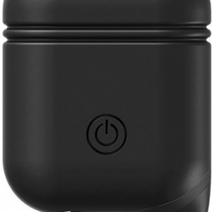 Xccess Shockproof Silicone Case with Hook for Apple Airpods Black