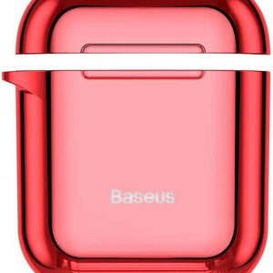 Baseus Shiny AirPods 1 / 2 Case Hoesje - Rood