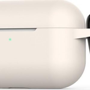 Mobigear Siliconen Cover Sand voor Apple AirPods Pro