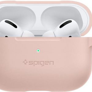 Spigen Silicone Fit for AirPods pro pink