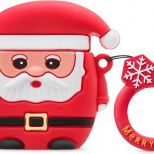 Xccess Shockproof Silicone Case with Hook for Apple Airpods Kerstman