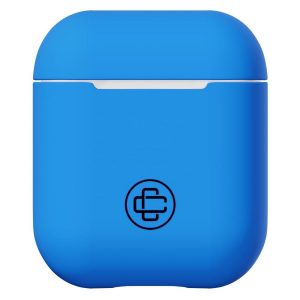Airpods Hoesje - Case Closed - Silicone - Blauw