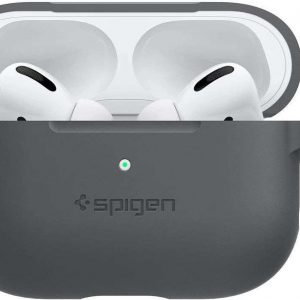 Spigen Silicone Fit AirPods Pro Case - Charcoal