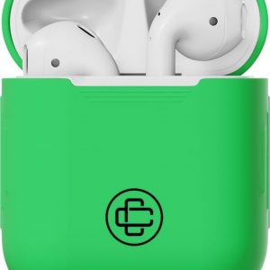 Airpods Hoesje - Silicone - Groen