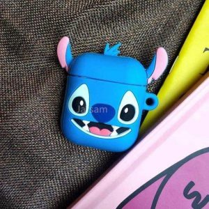 Stitch Airpods Case - Valbescherming Airpods - Airpods Case Cover - Soft Case - Airpods Hoesje.
