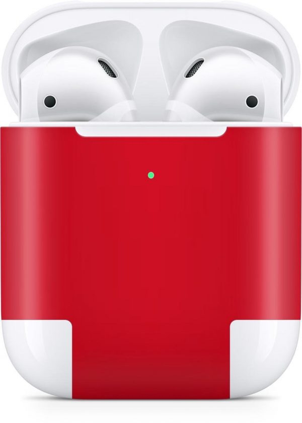 AirPods 2nd Generation Case Skin Hot Red - 3M WRAP
