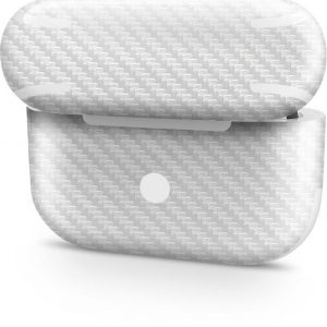 AirPods Pro Case Skin Carbon Wit- 3M Wrap