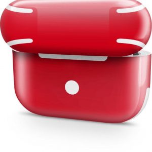 AirPods Pro Case Skin Hot Rood- 3M Wrap