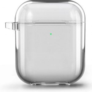AirPods hoesje van By Qubix - AirPods 1/2 hoesje Fluorescent series - hard case - transparant