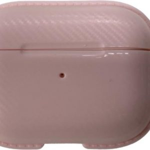 Airpods Pro Hoesje - Airpods Pro Cover - Airpods Pro Case - Airpods Pro Hardcase - Airpods Pro Bescherming - Airpods Case - Geschikt voor Airpods Pro - Roze