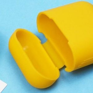Airpods Silicone Case Cover Hoesje voor Apple Airpods - Mango