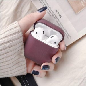Apple AirPods 1 & 2 hard case - donkerpaars -