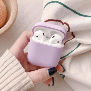 Apple AirPods 1 & 2 hard case - paars -