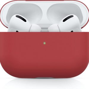 Apple AirPods PRO effen soft case - rood -