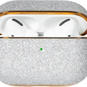 Bling shiny glitter hoesje for AirPods Pro - Zilver