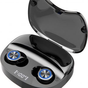 Bluetooth Oordopjes TW90 - Draadloos - touch control - airpods - earbuds - Apple & Android -Zwart