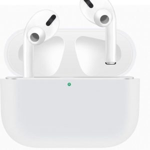 Case Cover Voor Apple Airpods Pro- Siliconen design | Wit