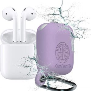 CaseProof waterproof case for AirPods violet