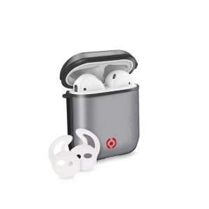 Celly AirPods 1/2 Volcano Case BK