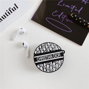 Christian Dior Airpods 1&2 Hoesje Luxe   Airpod Case  Airpods
