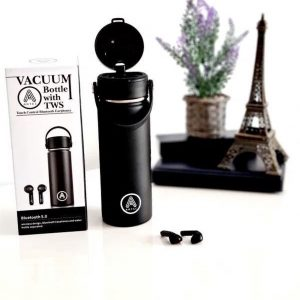 Earphone Bottle - Thermos - Airpods draadloos