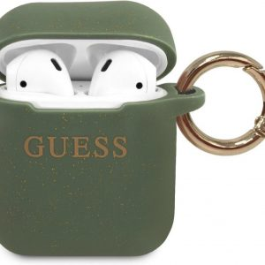 GUESS Silicone Case AirPods 1 / AirPods 2 - Khaki