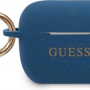 GUESS Silicone Case AirPods Pro - Blauw