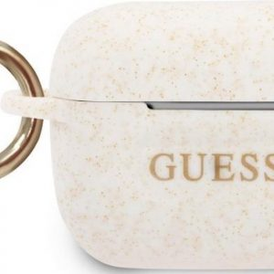 Guess Silicone Case voor Apple Airpods Pro - Wit