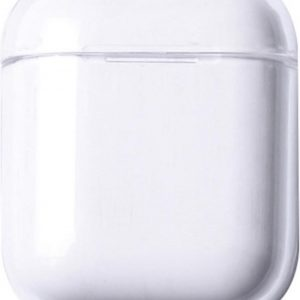 Hardcase - Plastic Cover - Voor Apple Airpods 1 & 2 - Transparant