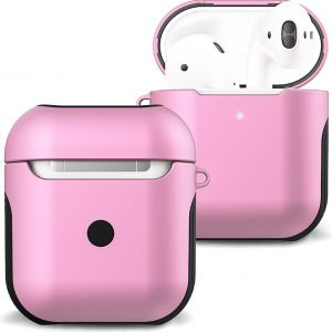 Hoesje Voor Apple AirPods 2 Case Hoes Hard Cover - Licht Roze