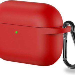 Lunso - Softcase cover hoes - AirPods Pro - Rood
