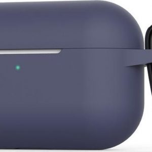 Mobigear Siliconen Cover Blauw voor Apple AirPods Pro
