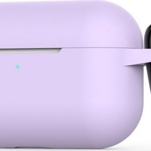 Mobigear Siliconen Cover Paars voor Apple AirPods Pro