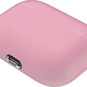 Mobigear Siliconen Cover Roze voor Apple AirPods pro